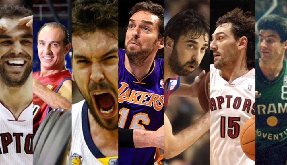 Los jugadores de baloncesto español más famosos